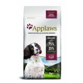Applaws sucha karma dla dorosłych psów małych i średnich ras z kurczakiem i jagnięciną 2kg