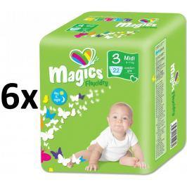 Magics Pieluszki Flexidry Midi (4-9kg) Megapack - 132 szt.