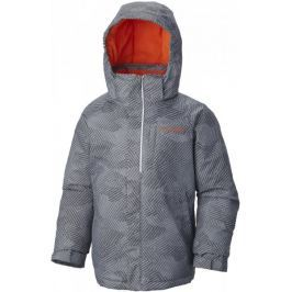 COLUMBIA kurtka narciarska Evo Fly Tradewinds Grey Print, Tangy Orange XL