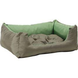 Argi prostokątne legowisko z poduszką, zielone, rozm. S