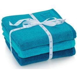 Kela Zestaw 3 ręczników LADESSA niebieskich
