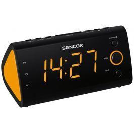 SENCOR radiobudzik SRC 170, pomarańczowy