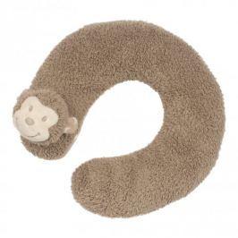 Bo Jungle B-Pluszowy rogal-poduszka podróżna Małpka
