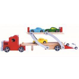 BINO Ciężarówka do przewożenia samochodów 84075