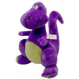 Mac Toys Pluszowy dinozaur, fioletowy