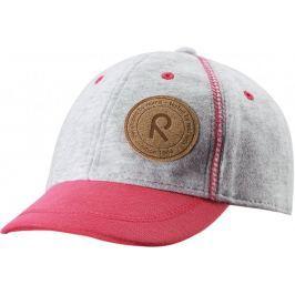 Reima czapka z daszkiem Purje raspberry red 50