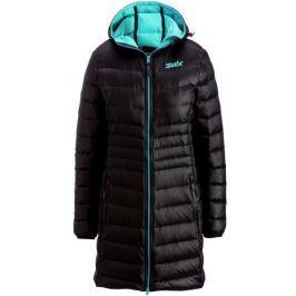 Swix płaszcz puchowy Romsdal Black/Tundra Blue S