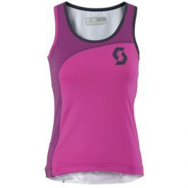 Scott Koszulka W's Endurance 10 tank bright pink/ beerry purple M
