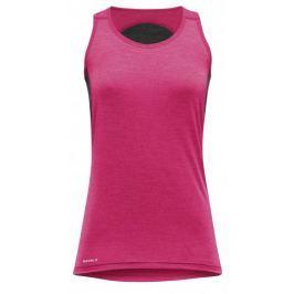 Devold termoaktywna koszulka na ramiączkach Running Singlet Lollipop S
