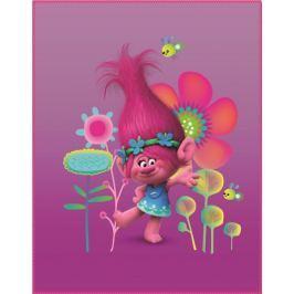 CTI Trolls Poppy Koc 110x140 cm