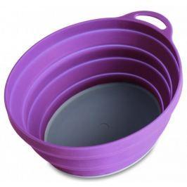 Lifeventure Miska Silicon Ellipse Bowl purple