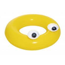 Bestway Nadmuchiwane koło z oczami, żółte, 91 cm