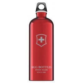 Sigg butelka Swiss Emblem 1,0 L Red