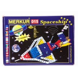 Merkur M015 Statek Kosmiczny 10 modeli 195 el.