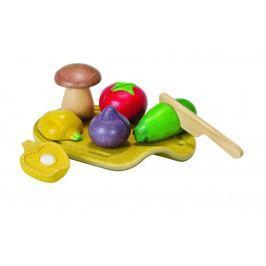 Plan Toys EKO - zestaw do krojenia zieleniny