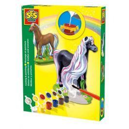 SES Zestaw gipsowy Koń z grzywą