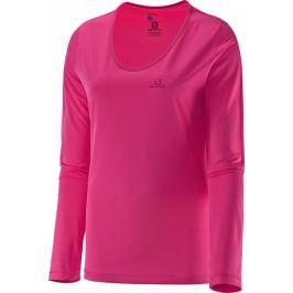Salomon koszulka z długim rękawem Mazy Ls Tee W Hot Pink L