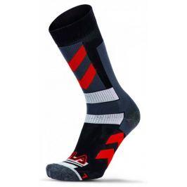 FILA skarpetki Skating Socks Stripes Red 35 - 38