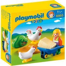 Playmobil Gospodyni z kurczakami 6965