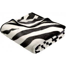 Biederlack Koc Zebra De luxe 150 x 200 cm