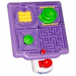 Eddy Toys Maze gra stołowa fioletowa