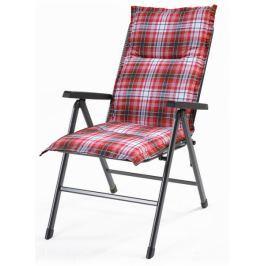 RIWALL poduszka ogrodowa Hartman, 120x50x6-1, czerwona