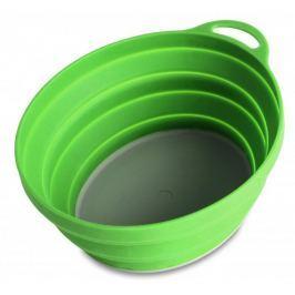 Lifeventure Miska Silicon Ellipse Bowl green