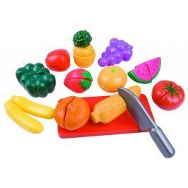 Teddies Cięcie owoców i warzyw w plastikowym pudełku