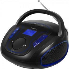 SENCOR przenośne radio SRD 230, czarny/niebieski