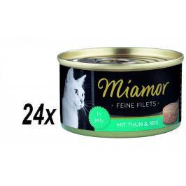 Finnern mokra karma dla kota Miamor Filet z tuńczyka 24 x 100 g