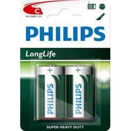 Philips baterie C 2 szt LongLife (R14L2B/10)