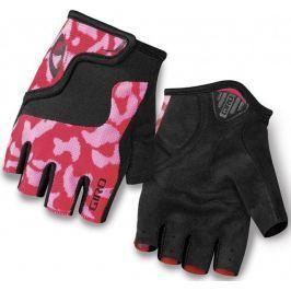 Giro rękawiczki rowerowe Bravo Jr Pink/Black XS