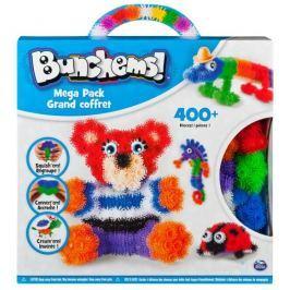 Spin Master Bunchems kolorowe rzepy - mega zestaw 406 el.