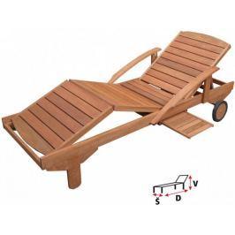 Hecht drewniany leżak ogrodowy ERA
