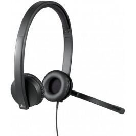 Logitech Słuchawki USB Headset H570e Stereo (981-000575)