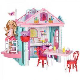 Mattel Barbie Siostra Chelsea z domkiem