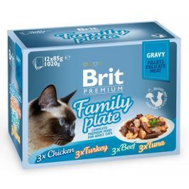 Brit Premium Cat Delicate Gravy Family Plate 12 x 85g