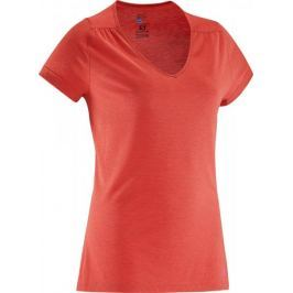 Salomon Ellipse Ss Tee W Flame Scarlet M