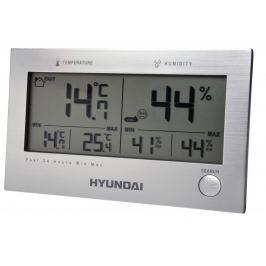 HYUNDAI stacja pogodowa WS2215, srebrna