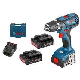 BOSCH Professional akumulatorowa wiertarko-wkrętarka GSR 14,4-2-LI Plus (06019E6020)