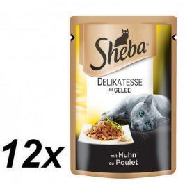 Sheba Saszetka DELIKATESSE in Gelee z kurczakiem 12 x 85g