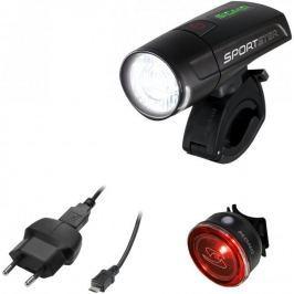 Sigma Zestaw lampek rowerowych Sigma Sportster + Mono Rl Black