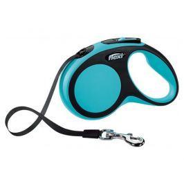 Flexi smycz New Comfort S taśma 5m/15kg niebieska