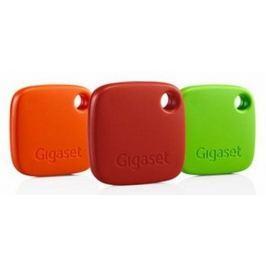 Gigaset brelok lokalizacyjny G-Tag, 3 sztuki, czerwony/pomarańczowy/zielony