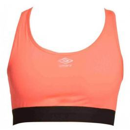Umbro top sportowy Top Crop Womens Fiery coral/black XS