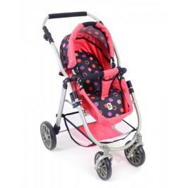 Bayer Chic Wózek dla lalek Emilia 3w1 czerwony
