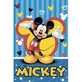 Jerry Fabrics Koc Mickey Mouse 120x150cm