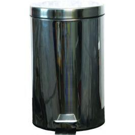 FAVE Kosz na śmieci ze stali nierdzewnej 12 l