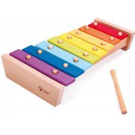 Teddies Ksylofon drewniany z pałeczką