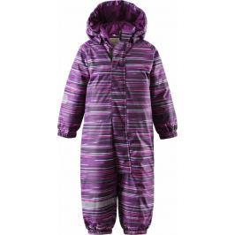 Lassie Kombinezon dziecięcy Lassietec Overall Dark Purple 080